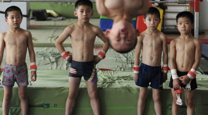 Как готовят будущих олимпийцев Китая