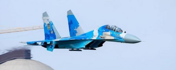 Пилот разбившегося украинского Су-27 устроил выпендреж перед американцами