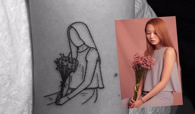 Ничего лишнего: 20 лаконичных татуировок от мастера минимализма из Южной Кореи