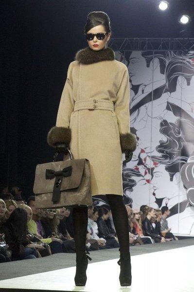 Пальто с мехом вновь на пике популярности