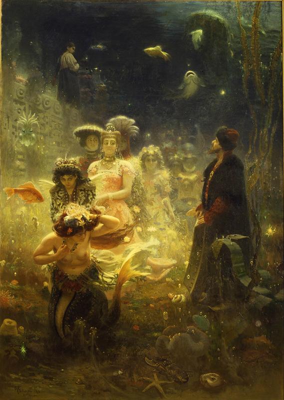Герои былин в русской живописи