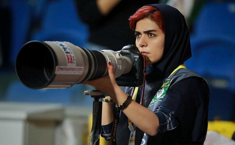 Первая в истории: иранская ж…