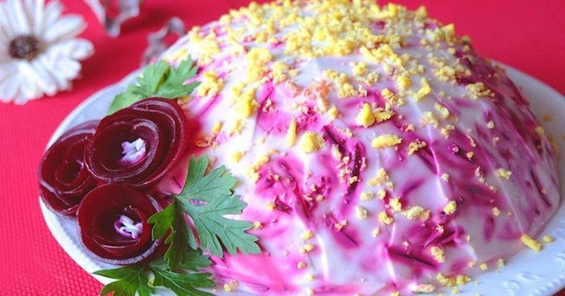 Рецепт салата со свеклой и говядиной