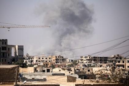 В коалиции США обосновали применение фосфорных бомб при ударе по Ракке