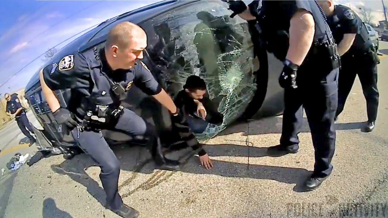 """Полицейский """"беспредел"""" в США"""
