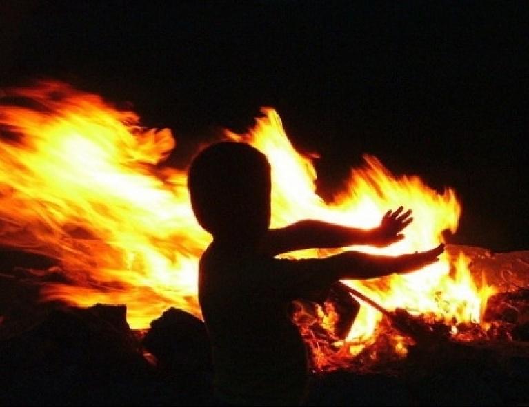 Дети и пожар