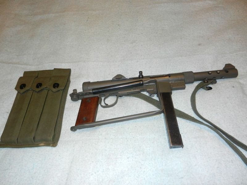 Пистолет-пулемет Carl Gustaf M45