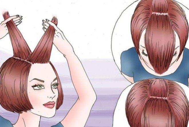 Небольшая подборка полезных хитростей для быстрой укладки волос в желаемую прическу