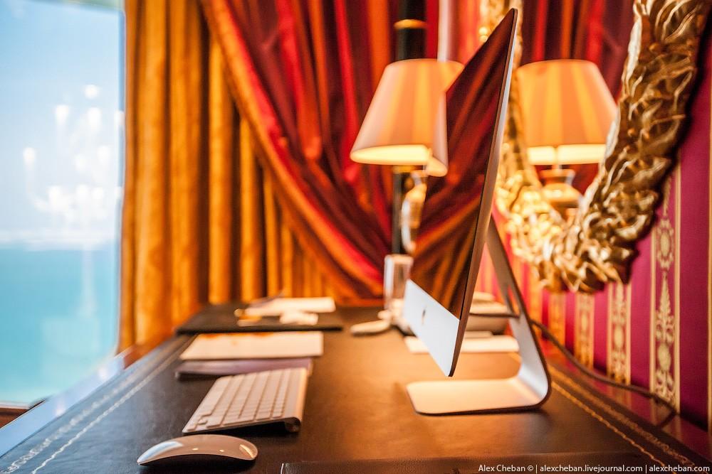 BurjAlArab40 Золото для шейхов и олигархов: самый дорогой номер в семизвездочном отеле Burj Al Arab