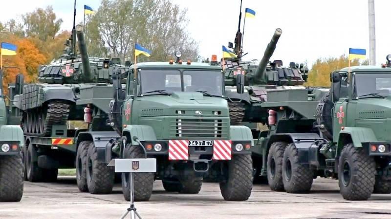 Украинская армия получила более 200 единиц военной техники