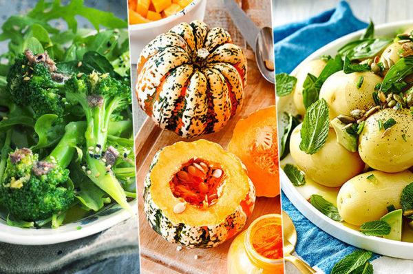 5 вкусных и полезных сезонных продуктов для тех, кто сидит на диете