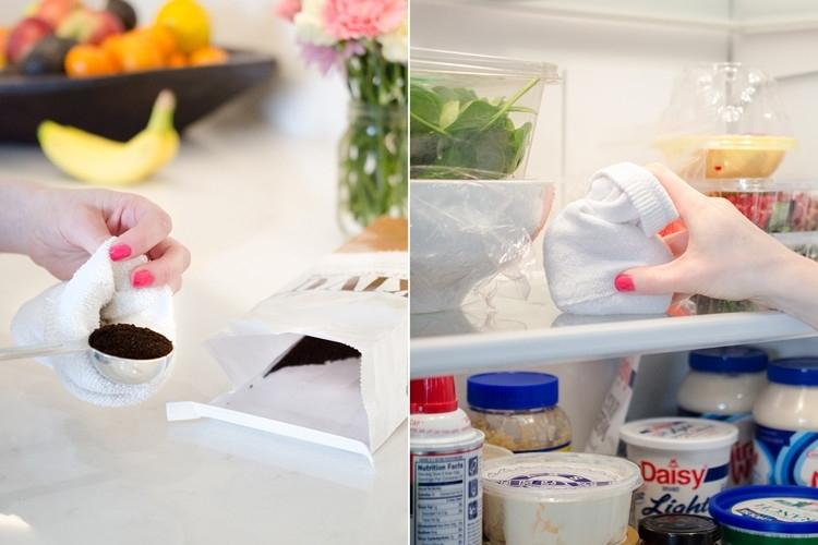 Устраните запах из холодильника