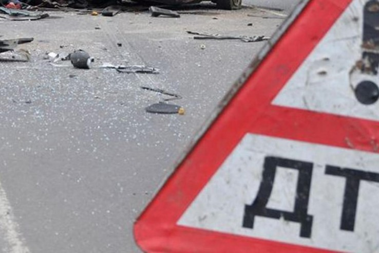 В Крыму в пропасть сорвался BMW