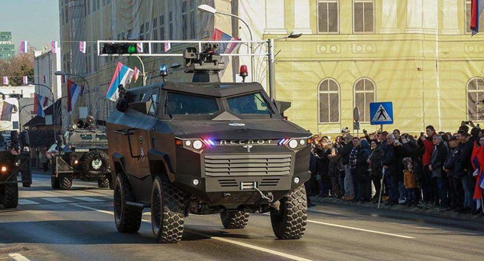 """Бронеавтомобиль """"Деспот"""" из Республики Сербской в Боснии и Герцеговине"""