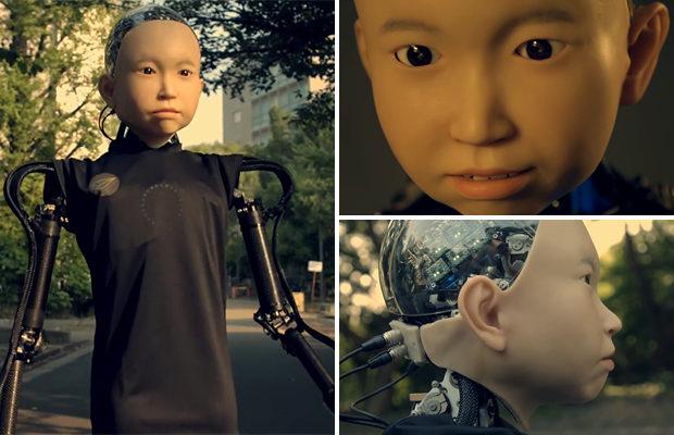 Человекоподобный робот с лиц…