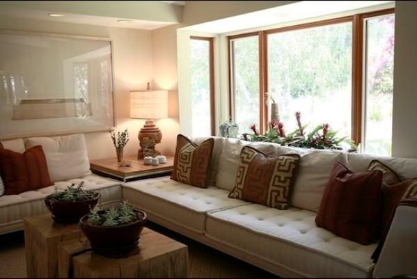Дизайн интерьера гостиной в коричневых тонах: кофе и шоколадСтроим вместе! Строим вместе!