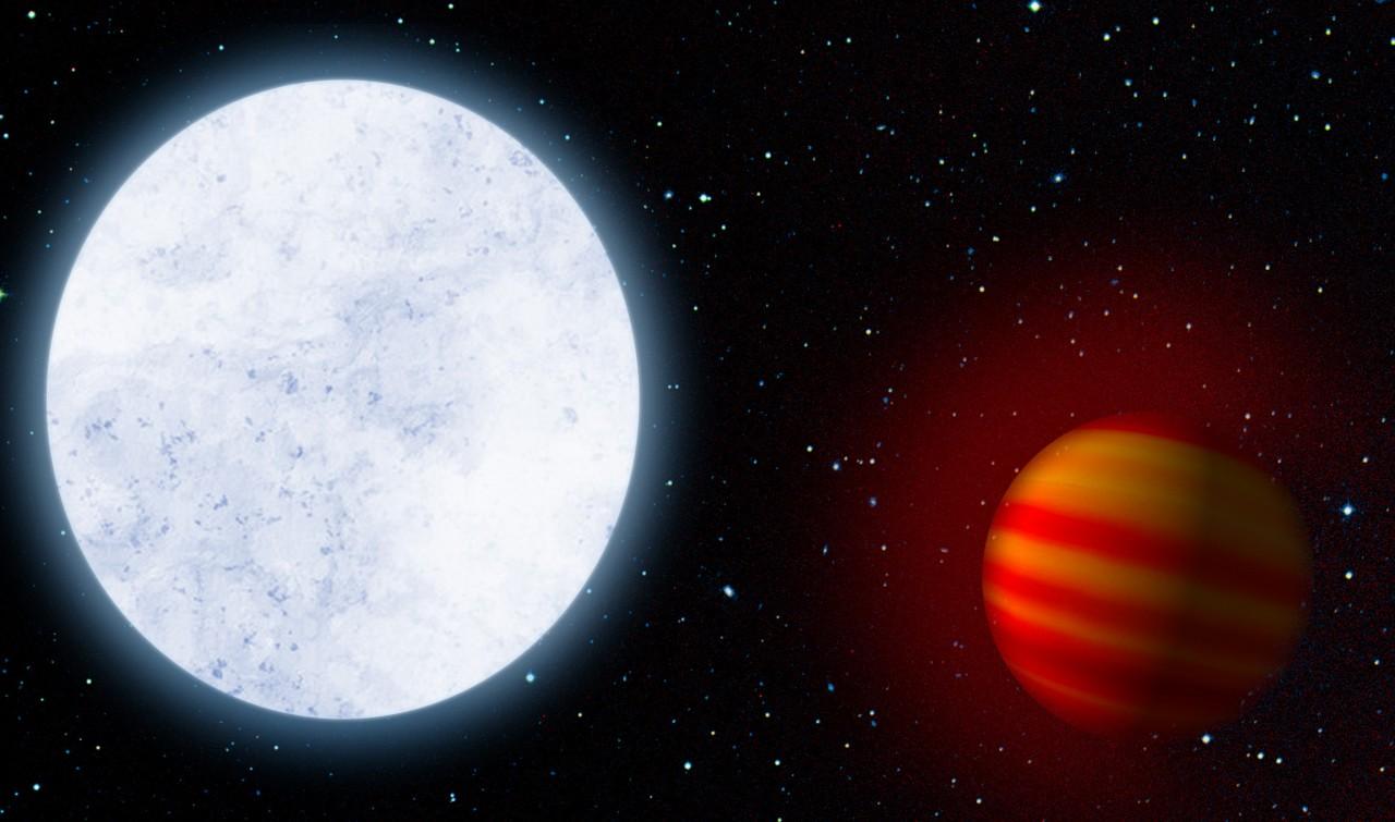У далекой экзопланеты нашлас…