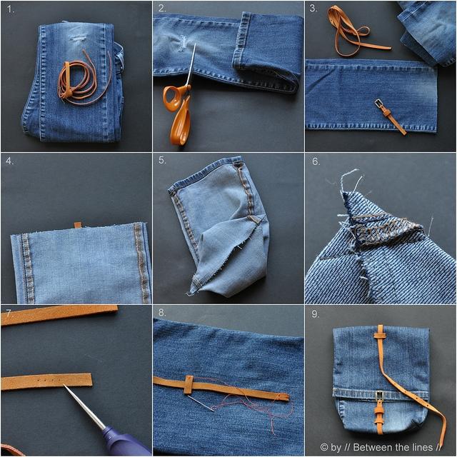 Как из джинс сшить джинсовку