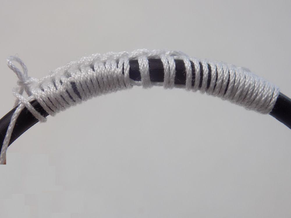 обвязаное кольцо