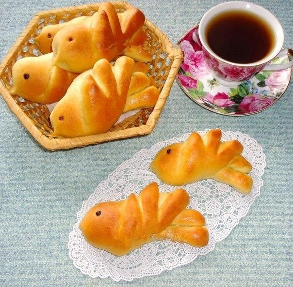 Булочки «Жаворонки» для вкусного весеннего чаепития!