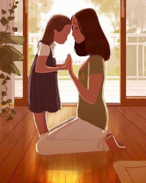 Когда я изредка жалуюсь маме на неприятности, то она всегда говорит мне: » — я не знаю всех деталей, но могу помочь тебе дверью.