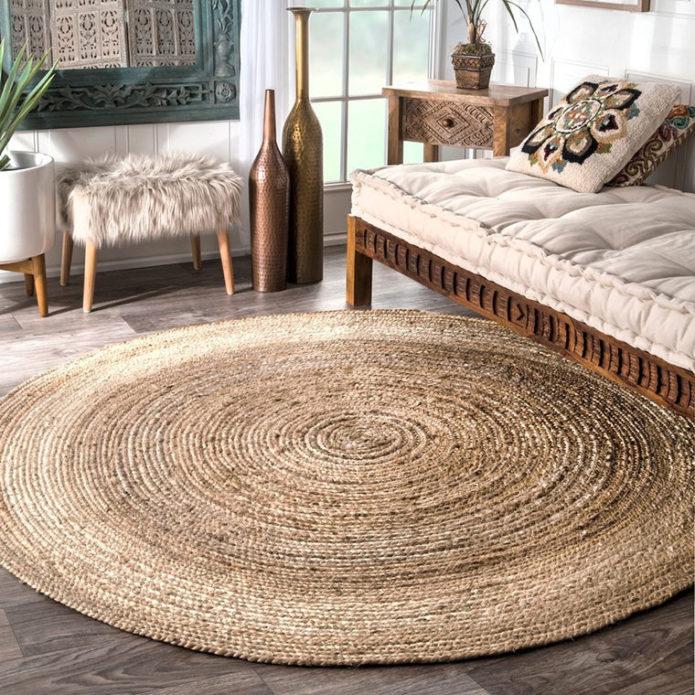 Джутовый ковёр