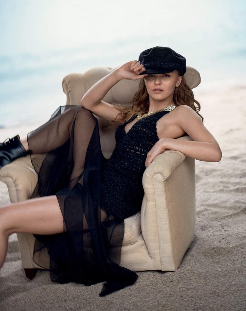Лили-Роуз Депп для Vogue Russia июль 2018