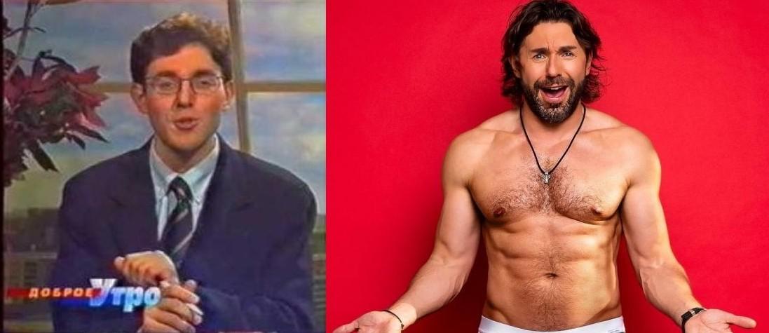 Андрей Малахов (45 лет) люди, телеведущие, телевизор, тогда и сейчас