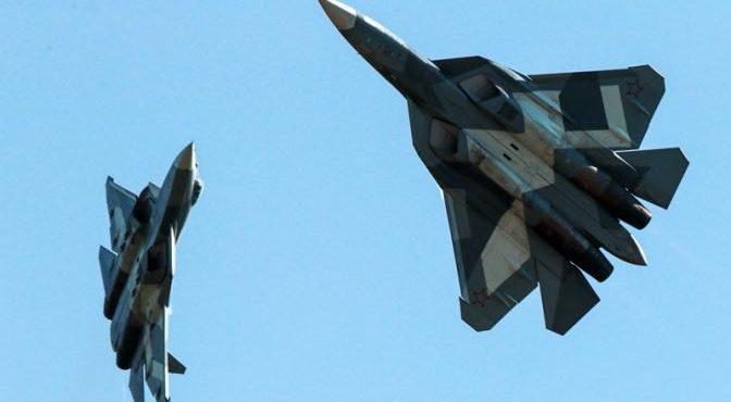 F-22 увидит ракету РВВ-МД, выпущенную Су-57, только в момент гибели