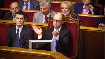 Яценюк призвал олигархов «сброситься» на восстановление Донбасса