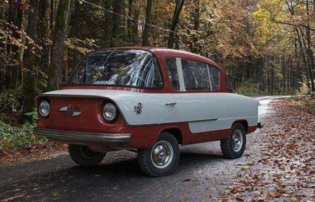«Белка» – одна из первых моделей «Запорожца»