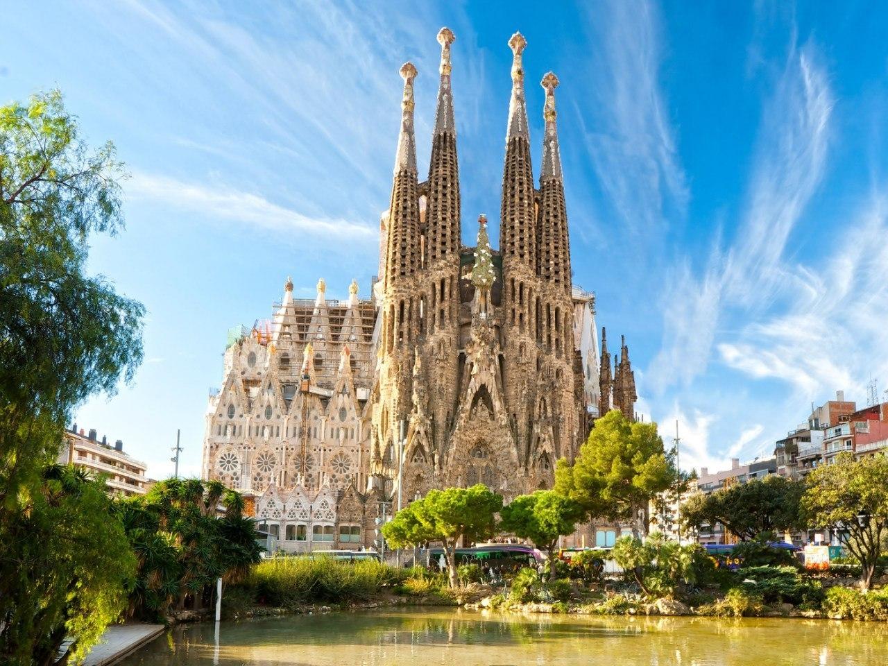 Барселона - собор фантазий