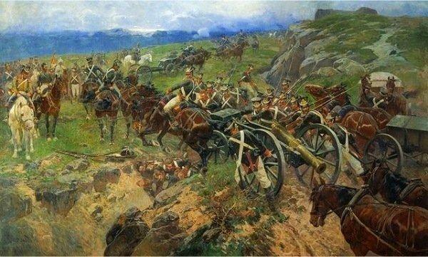 500 русских против 40 000 персов