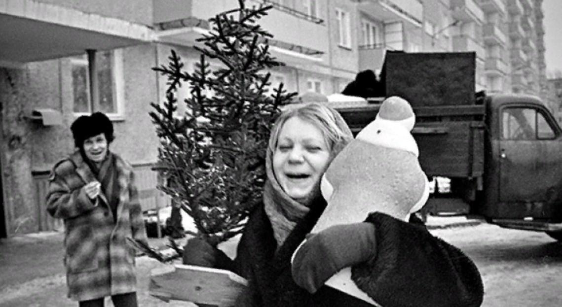 Ретро-подборка - как Новый год встречали в СССР?