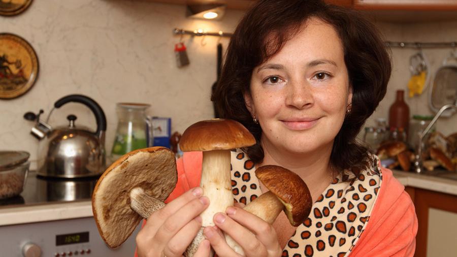 Готовим грибы правильно