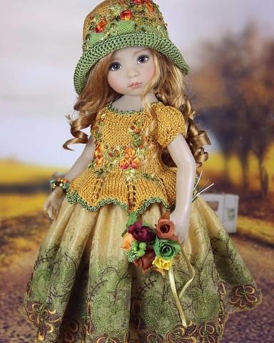 Куклы меня просто очаровали! Автор - Диана Эффнер.