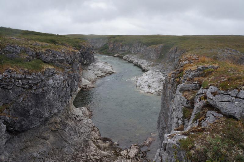 Каньон Полярный Урал, горные реки, горы, пейзаж, путешествие
