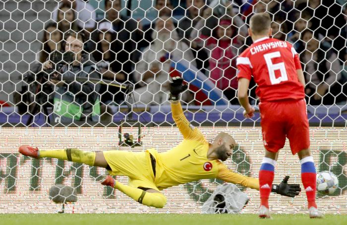 Россия — Турция 2:0. Подопечные Черчесова — в шаге от победы в групповом турнире Лиги наций