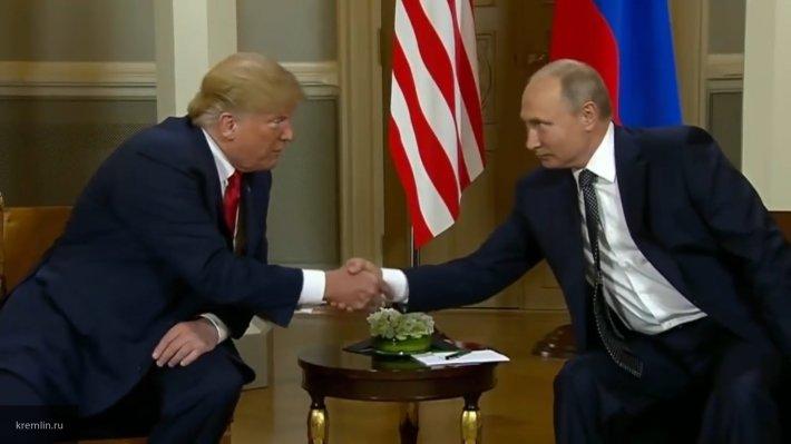 Путин и Трамп проведут встречу в День святого Валентина