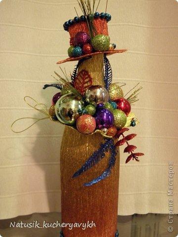 Декор предметов Мастер-класс Новый год Моделирование конструирование новогоднее дефиле + мк Бумага гофрированная фото 13