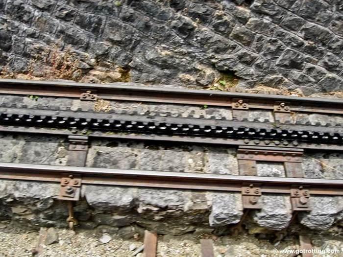 Зубчатые железные дороги. Железная дорога, Зубчатый рельс, Длиннопост, Видео