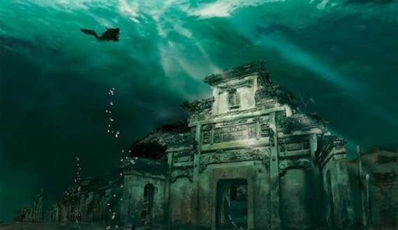 Подводный город Шичэн