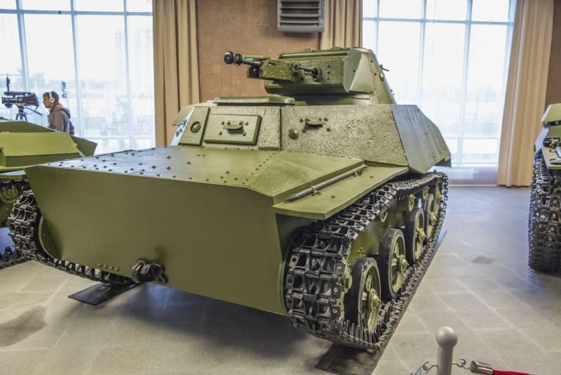 Рассказы об оружии. Малый плавающий танк Т-40