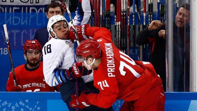 Какая боль: Россия-США 4:0. Всё, южнокорейской Олимпиадой я удовлетворён