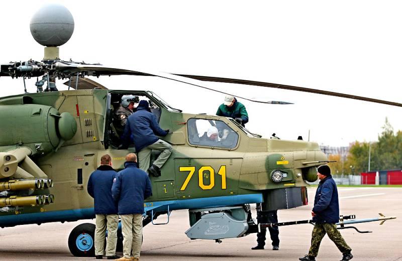 Ударный вертолет Ми-28НМ. Инфографика