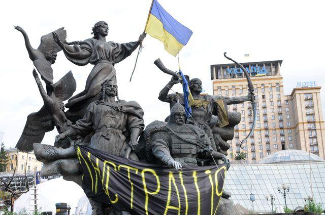Националисты в Незалежной. Майдан «АиФ» предсказал за два десятка лет