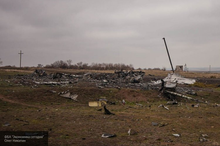 На месте крушения МН-17 нашли новые человеческие останки