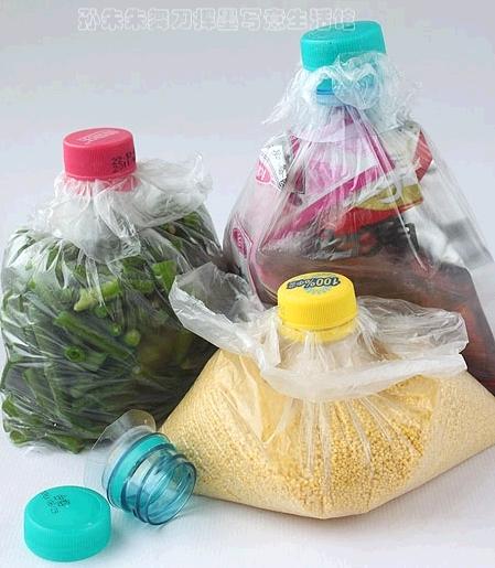 Идея для хранения сыпучих и жидких продуктов