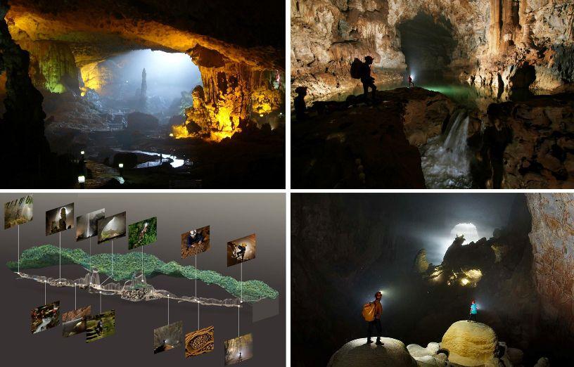 Потрясающие виды внутри крупнейшей пещеры в мире  пещера, в мире, вид, красота