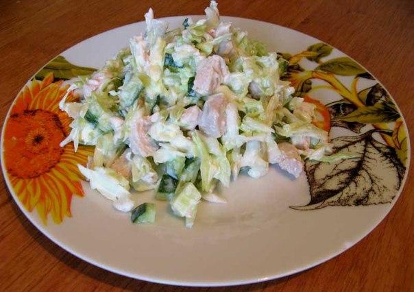 Подборка салатиков для стройной фигуры